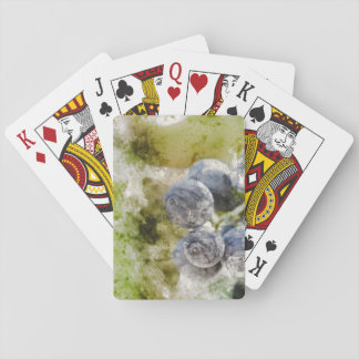 Red Wine Grapes in the Vineyard Playing Cards