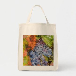 Red Wine Grapes on Vine Tote Bag