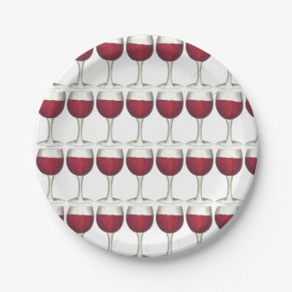 Red Wine Merlot Glass Glasses Cocktail Party Plate