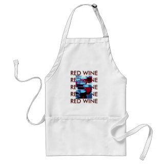 Red Wine Photograph Standard Apron