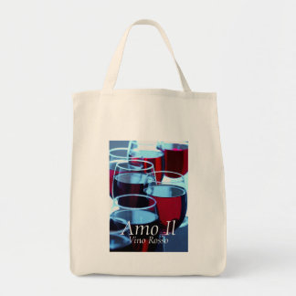 Red Wine Photograph Tote Bag