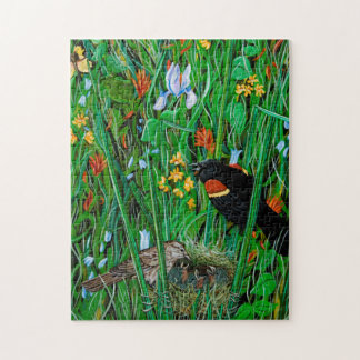 Red Wing Blackbird Puzzle