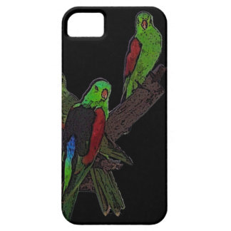 Red-winged parrot iPhone 5 case