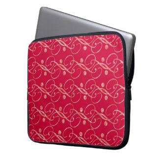 Red with sample laptop sleeve