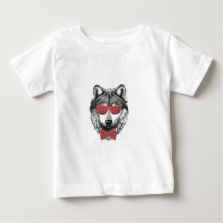 Red Wolf Baby T-Shirt