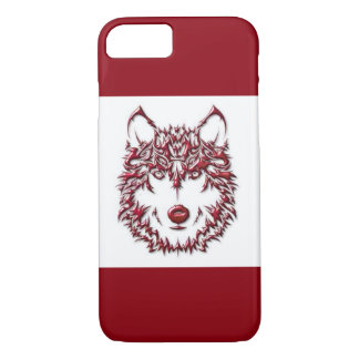 Red Wolf iPhone 8/7 Case