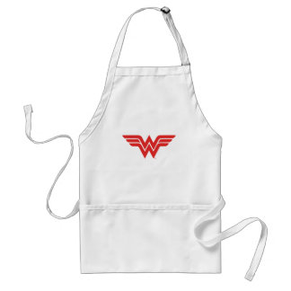 Red Wonder Woman Logo Standard Apron