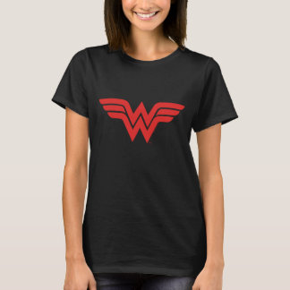 Red Wonder Woman Logo T-Shirt