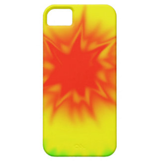 Red Yellow and Green Tie Dye iPhone 5 Case