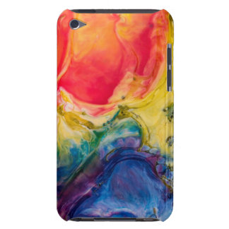 Red Yellow Blue Abstract Painting iPod Touch Cover