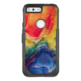 Red Yellow Blue Abstract Painting OtterBox Commuter Google Pixel Case