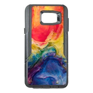 Red Yellow Blue Abstract Painting OtterBox Samsung Note 5 Case