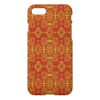 red yellow cool abstract pattern iPhone 7 case