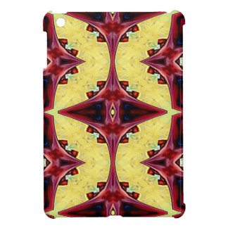 Red Yellow Cool Hip Geometric  Shapes iPad Mini Cover