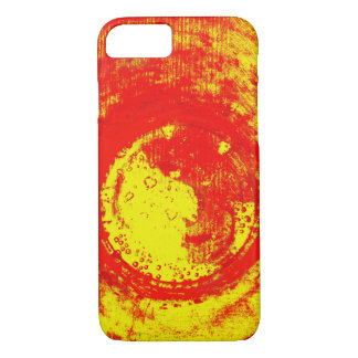 red-yellow iPhone 7 case