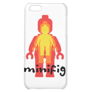 Red Yellow Orange Minifig by Customize My Minifig iPhone 5C Case