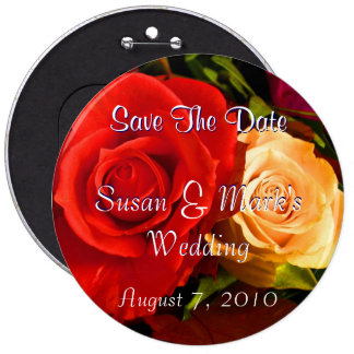 Red Yellow Rose Pins
