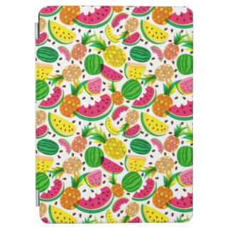 Red & Yellow Tropical Fruit Pattern iPad Air Cover
