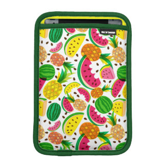 Red & Yellow Tropical Fruit Pattern iPad Mini Sleeve