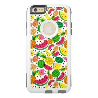 Red & Yellow Tropical Fruit Pattern OtterBox iPhone 6/6s Plus Case