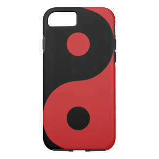 Red Yin Yang Phone Case