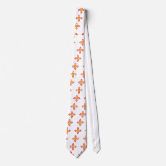 Red Zia Sun God Tie