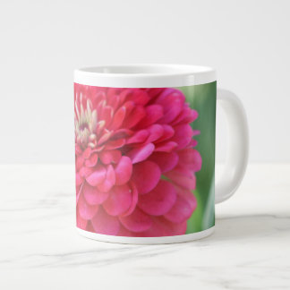 Red Zinnia Large Coffee Mug