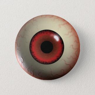 Red Zombie Eye-ball Badge
