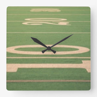 Red Zone Football Wall Clock
