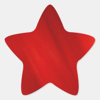 Red Zoom Light Star Sticker