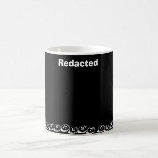 Redacted Goverment owned Coffee Mug