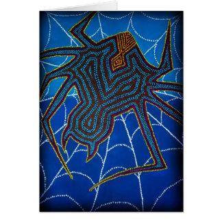 Redback Dreaming, greeting card