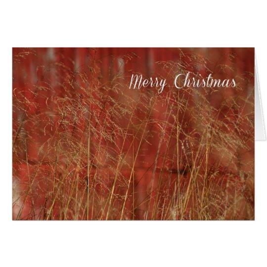 RedBarn Christmas Card