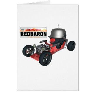 RedBaron Greeting Card