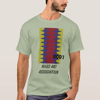 RedBlueYelo, Niles Art Association, 2007 T-Shirt
