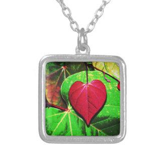 Redbud Heart Leaf Custom Necklace