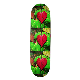 Redbud Heart Leaf Skate Deck
