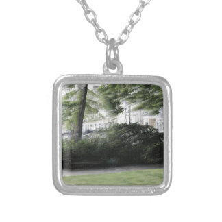 Redcliff square Garden in London Silver Plated Necklace