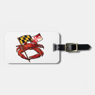 RedCrab_MD_banner.ai Luggage Tag