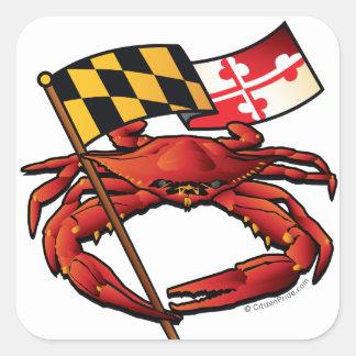 RedCrab_MD_banner.ai Square Sticker