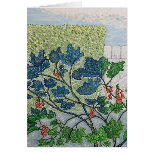 Redcurrant Berries Greeting Cards