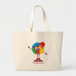 Reddhead Large Tote Bag