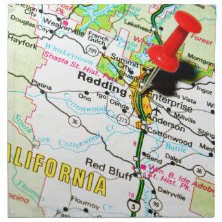 Redding, California Napkin