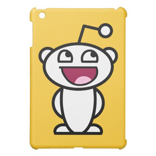 Reddit Awesome Face iPad Mini Covers