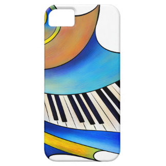 Redemessia - spiral piano iPhone 5 cover