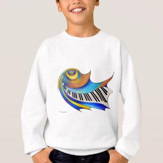 Redemessia - spiral piano sweatshirt