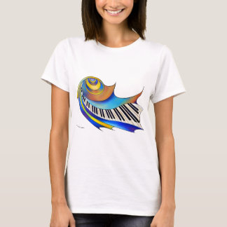 Redemessia - spiral piano T-Shirt