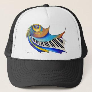 Redemessia - spiral piano trucker hat