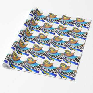 Redemessia - spiral piano wrapping paper