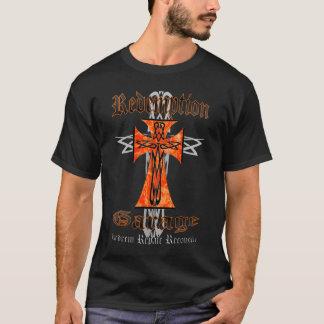 Redemption Garage Tribal Cross 2 T-Shirt